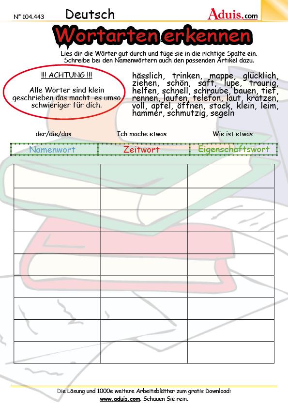 Ausgezeichnet Und Masse Substantive Arbeitsblatt Mathematik ...
