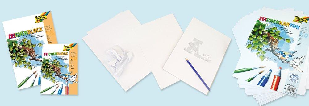 Bastelbedarf - Zeichen- und Malpapier