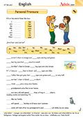 Personal pronouns exercise - Help out the two kids (ab 14 Jahre)