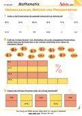 Bruch- und Dezimalzahlen - Arbeitsblätter   Mathematik ...