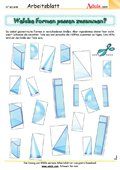 raumorientierung bastelideen mathematik geometrie. Black Bedroom Furniture Sets. Home Design Ideas