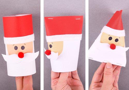 Adventskalender Basteln Weihnachtsmann Und Renti Aduis