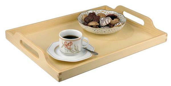 serviertablett guten morgen werkpackungen von 10 15. Black Bedroom Furniture Sets. Home Design Ideas