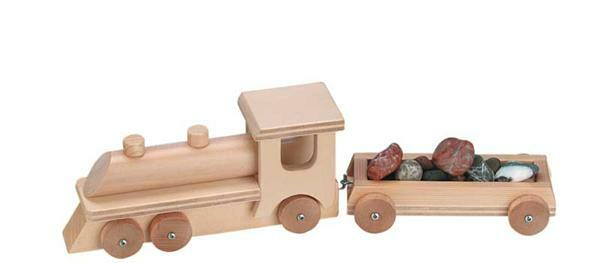 Lokomotive mit Wagon Tom Tom