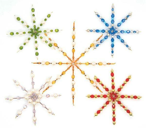 Drahtsterne f r perlen 4 stk 10 cm online kaufen aduis - Drahtsterne basteln ...