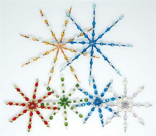 Drahtsterne f r perlen 4 stk 15 cm perlen - Drahtsterne basteln ...