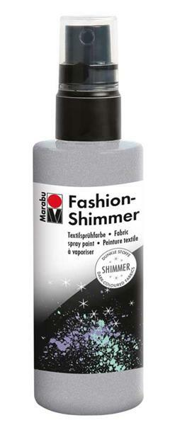 Marabu Fashion-Shimmer-Spray - 100 ml, silber