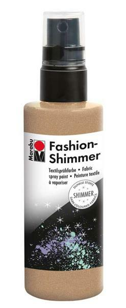 Marabu Fashion-Shimmer-Spray - 100 ml, gold