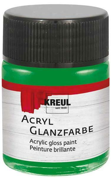 acryl glanzfarbe 50 ml dunkelgr n online kaufen aduis. Black Bedroom Furniture Sets. Home Design Ideas