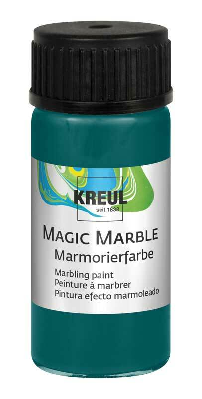 marmorierfarbe magic marble 20 ml t rkis kreatives. Black Bedroom Furniture Sets. Home Design Ideas