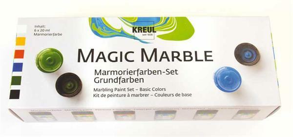 marmorierfarbe magic marble 6er set grundfarben. Black Bedroom Furniture Sets. Home Design Ideas
