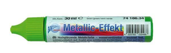Metallglanz Effektcolour - 30 ml, grün