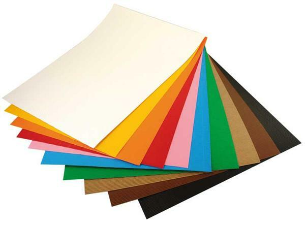 Wellpappe 50 x 70 cm 10 bg bunt sortiert papier und for Fenetre 50 x 70