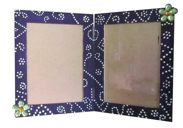 bilderrahmen doppelt papier und karton mdf artikel. Black Bedroom Furniture Sets. Home Design Ideas