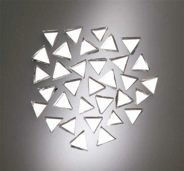 Mosaik spiegelsteine 100 g dreieck 10 mm kreatives gestalten mosaiksteine und zubeh r - Mosaiksteine spiegel ...