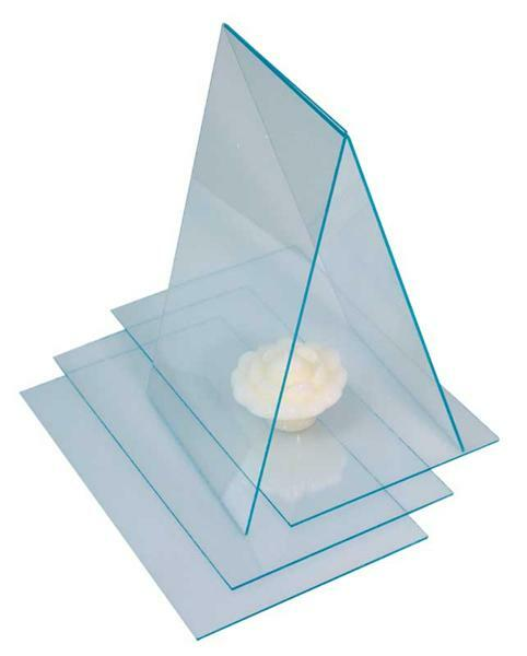 polystyrol glasklar 2 mm 24 5 x 14 5 cm zuschnittservice kunststoffplatten. Black Bedroom Furniture Sets. Home Design Ideas