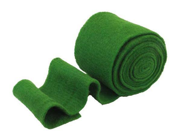 filzband 15 cm breit gr n stoff seide garn wolle filzen filzvlies. Black Bedroom Furniture Sets. Home Design Ideas