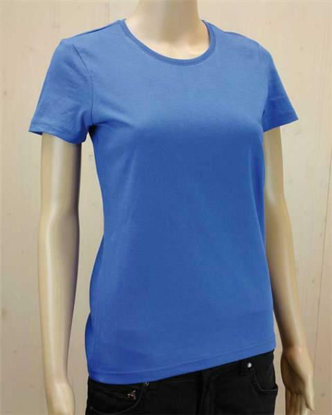 T-Shirt Damen - blau, XL