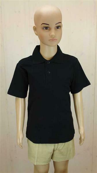 polo shirt kinder schwarz xl online kaufen aduis. Black Bedroom Furniture Sets. Home Design Ideas