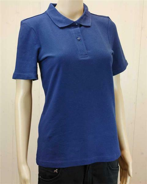 Polo-Shirt Damen - dunkelblau, S