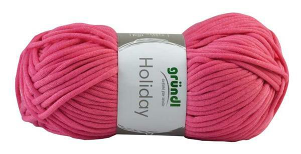 Wolle Holiday - 50 g, rosa