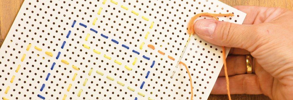 Stickkarton U0026amp; Prickeln