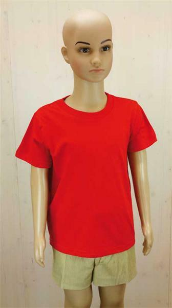 T-Shirt Kinder - rot, S